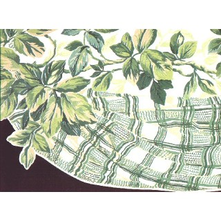 10 in x 15 ft Prepasted Wallpaper Borders - Leaf Wall Paper Border b4986ab