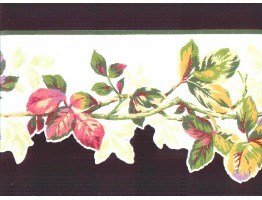 Prepasted Wallpaper Borders - Leaf Wall Paper Border b4994ab
