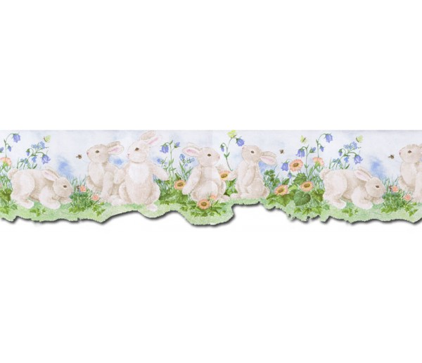 Rabbits Wallpaper Borders: Rabbits Wallpaper Border B50026
