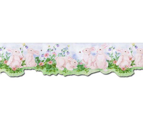 Clearance: Rabbits Wallpaper Border B50027