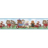 Toys Wallpaper Borders: Bears Wallpaper Border B50034
