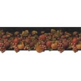 Garden Wallpaper Borders: Fruits Wallpaper Border FF51001DB