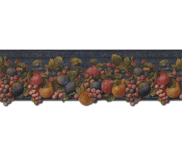 Clearance: Fruits Wallpaper Border FF51002DB