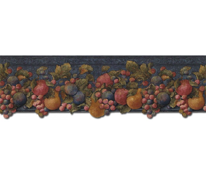 Clearance: Fruits Wallpaper Border FF51004DB