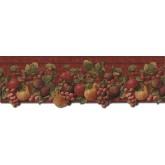 Garden Wallpaper Borders: Fruits Wallpaper Border FF51005DB