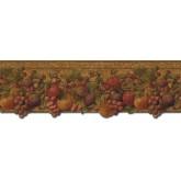 Garden Wallpaper Borders: Fruits Wallpaper Border FF51006DB