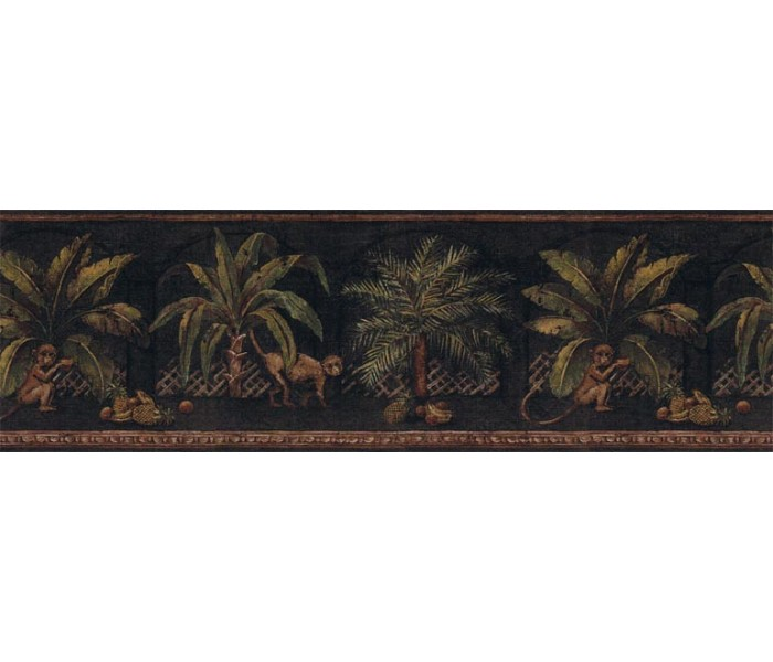 Clearance: Animals Wallpaper Border FF51017B