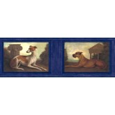 Clearance: Dogs Wallpaper Border b51652