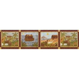 9 in x 15 ft Prepasted Wallpaper Borders - Country Wall Paper Border B53228