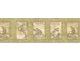 Animals Wallpaper Border b545493