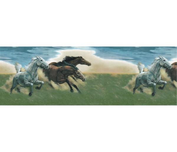 Horses Wallpaper Borders: Horses Wallpaper Border B56821