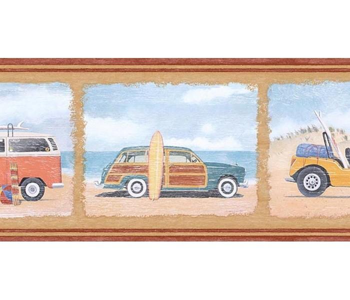 Clearance: Cars Wallpaper Border PB58005B