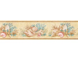 Counch Wallpaper Border PB58008B