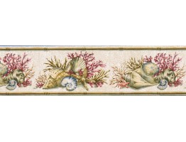 Counch Wallpaper Border PB58011B