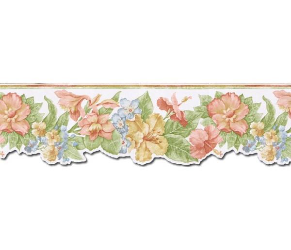 Floral Wallpaper Borders: Floral Wallpaper Border PB58017DB