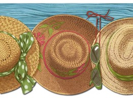 Hats Wallpaper Border PB58026DB