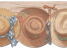 Hats Wallpaper Border PB58027DB