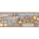 Clearance: Country Wallpaper Border PB58049B