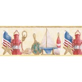 Clearance: Sea World Wallpaper Border PB58053B