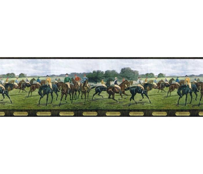 Clearance: Horses Wallpaper Border b5806285