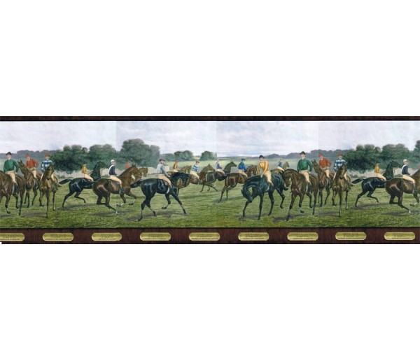 Clearance: Horses Wallpaper Border b5806287