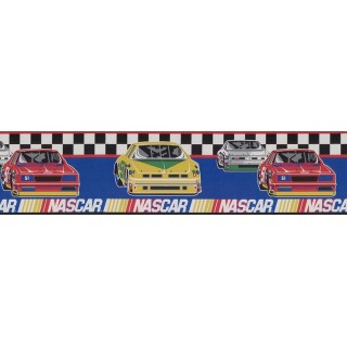 6 3/4 in x 15 ft Prepasted Wallpaper Borders - Cars Wall Paper Border FP581730