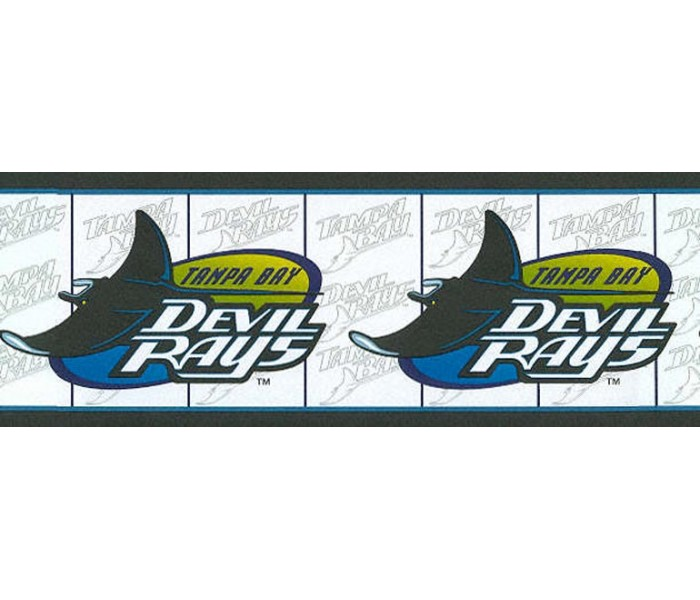 Clearance: Tampa Bay Devil Rays Wallpaper Border 588451