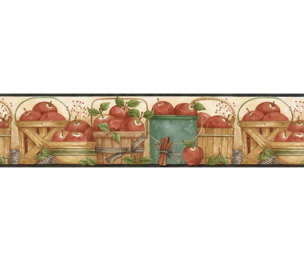 Garden Wallpaper Borders: Fruits Wallpaper Border ACS59005B