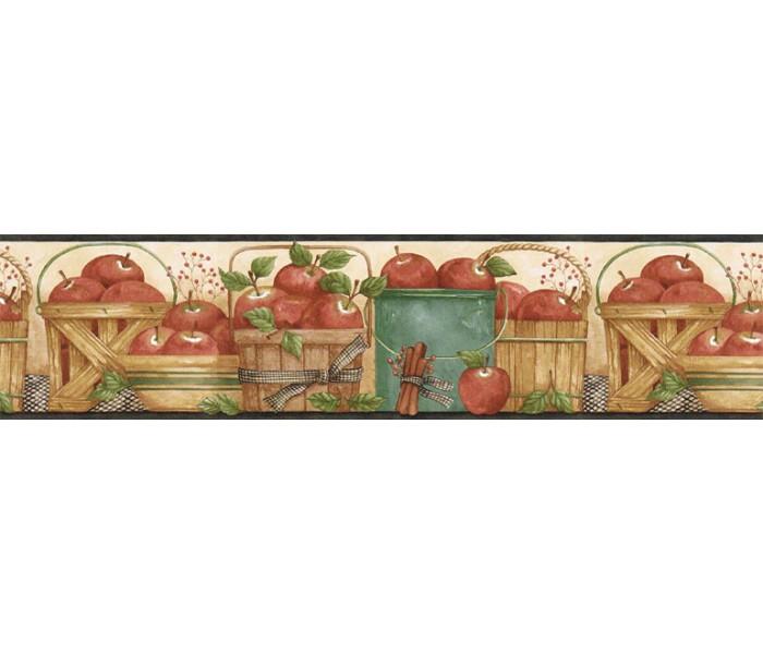Garden Wallpaper Borders: Fruits Wallpaper Border ACS59005B