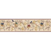 Prepasted Wallpaper Borders - Birds House Wall Paper Border ACS59012B