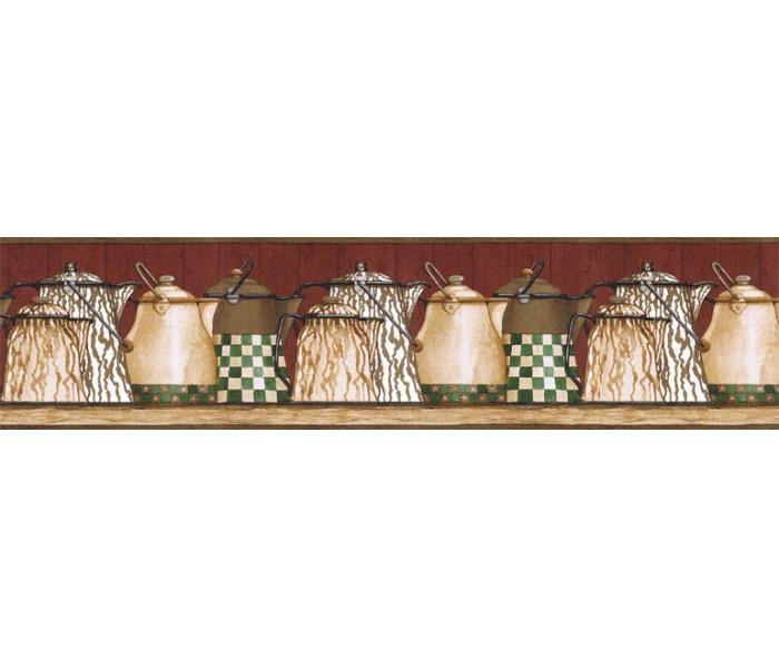 Clearance: Kitchen Wallpaper Border ACS59020B