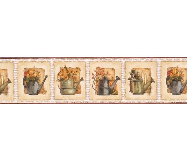 Garden Wallpaper Borders: Garden Wallpaper Border ACS59023B