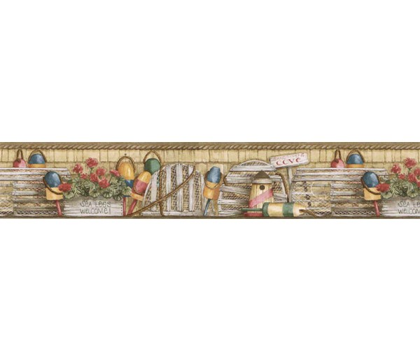 Clearance: Country Wallpaper Border ACS59040B