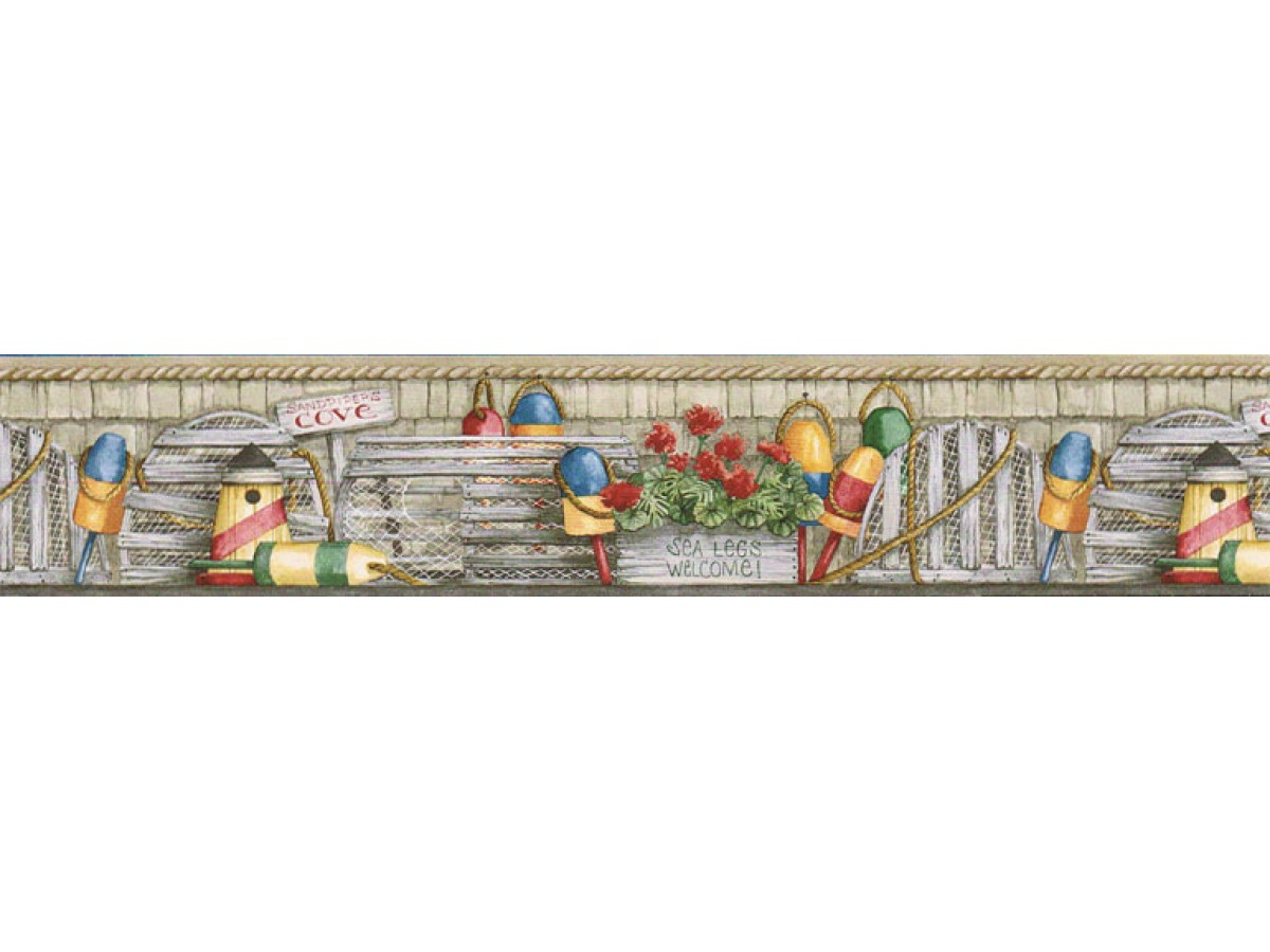 Country Wallpaper Border ACS59042B