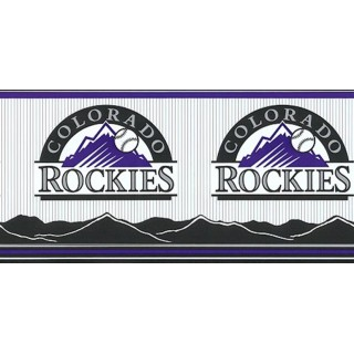 7 in x 15 ft Prepasted Wallpaper Borders - Rockies Wall Paper Border 594306