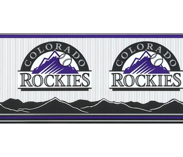 Clearance: Rockies Wallpaper Border 594306