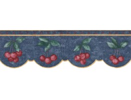 Prepasted Wallpaper Borders - Fruits Wall Paper Border B60006