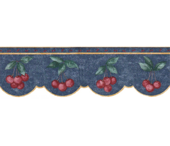 Clearance: Fruits Wallpaper Border B60006