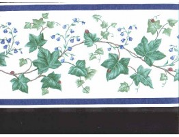 Prepasted Wallpaper Borders - Leafs Wall Paper Border B6023ac