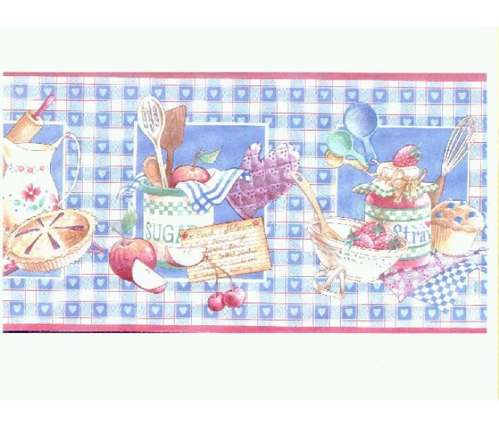 Clearance: Kitchen Wallpaper Border b6024cl