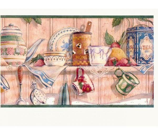 Kitchen Wallpaper Borders: Kitchen Wallpaper Border CL6043B