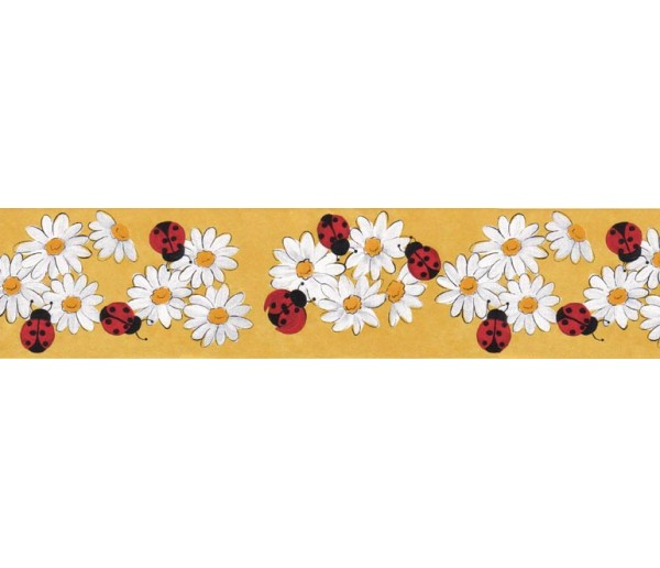 Clearance Floral Wallpaper Border B61016