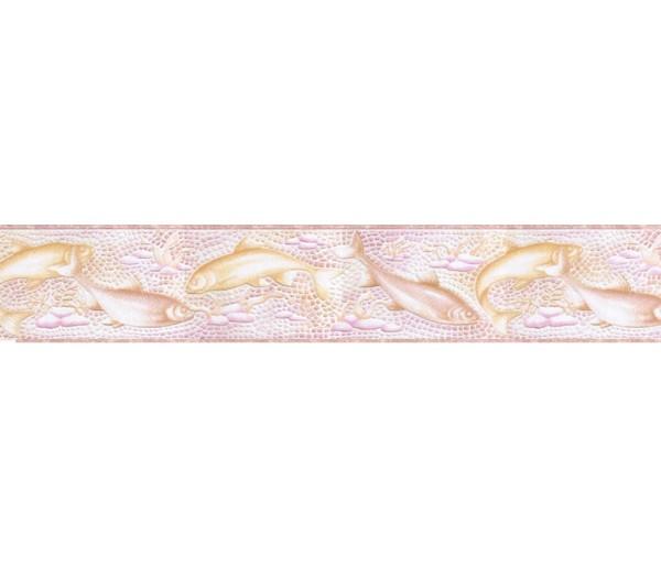 Clearance: Fish Wallpaper Border b6122