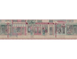 Prepasted Wallpaper Borders - Country Wall Paper Border b61551