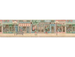 Prepasted Wallpaper Borders - Contemporary Wall Paper Border PX61552B