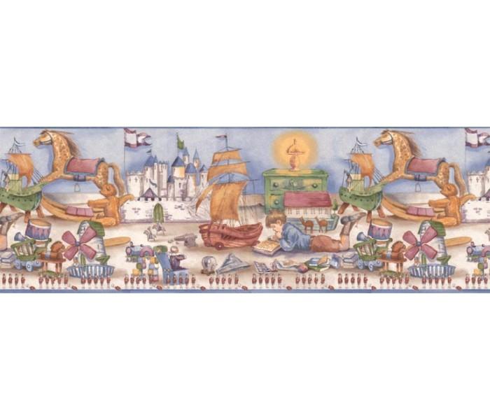 Clearance: Kids Wallpaper Border B6184