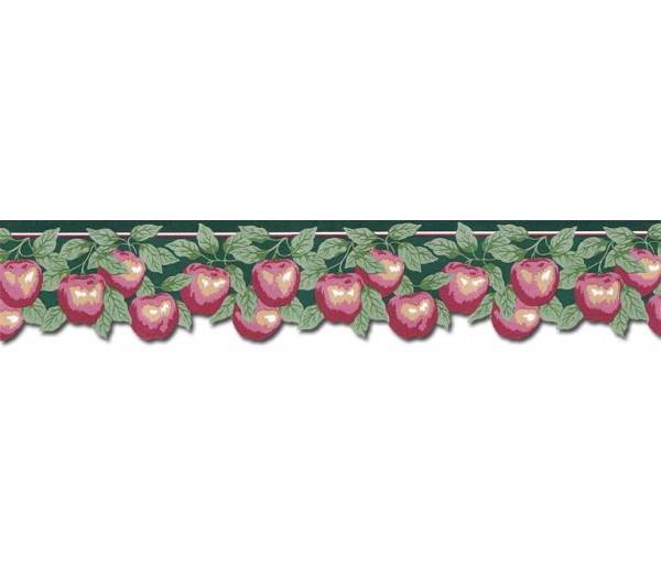 Garden Wallpaper Borders: Apple Fruits Wallpaper WBC6188