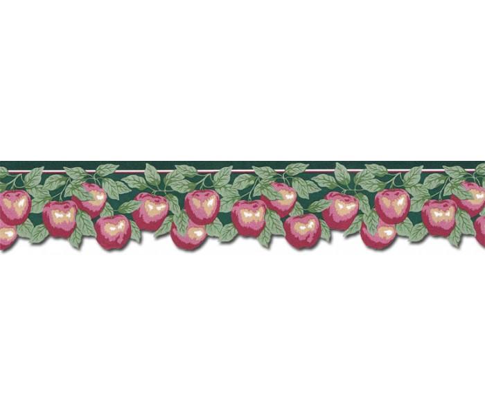 Garden Wallpaper Borders: Apple Fruits Wallpaper WBC6188