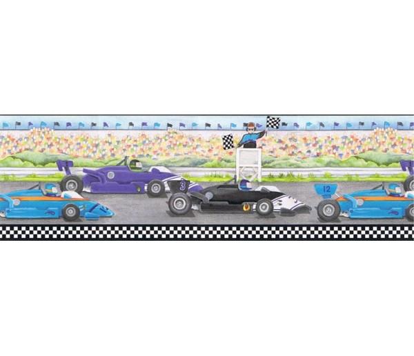 Boys Cars Wallpaper Border b6257ci