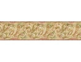 Prepasted Wallpaper Borders - Vintage Wall Paper Border JTS64001